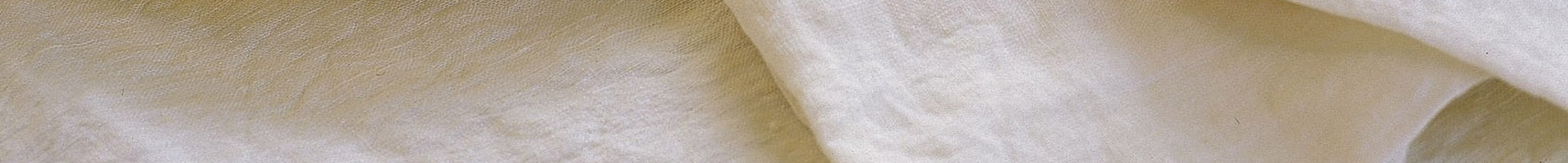 Napkins and tablecloth in 100% linen Laveno colour white milk