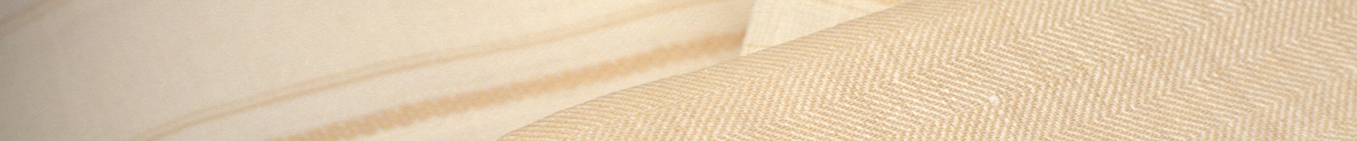 Beige linen bedsheets plain and striped