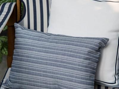 Viareggio and Orizzonte outdoor fabrics 100% Dyed Acrylic