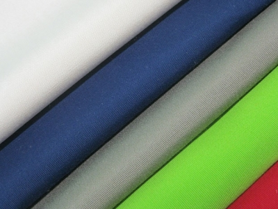 Outdoor fabrics in different colours
