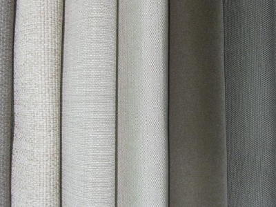 Outdoor fabrics in neutral colours