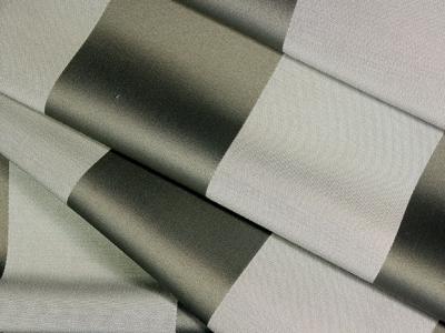 Divina-Lucrezia silver striped fire retardant fabric