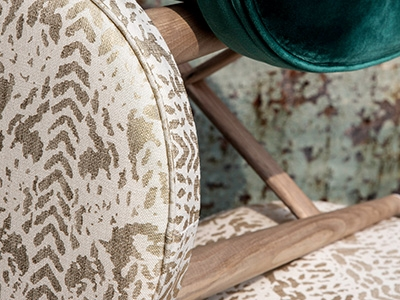 Printed linens collection Baleares