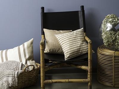 Eden silk cushion