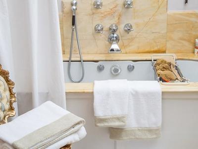 Bath set model Versilia in 100% cotton terrycloth