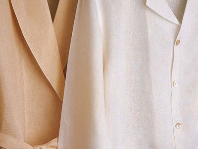 Night gown and pajama in linen