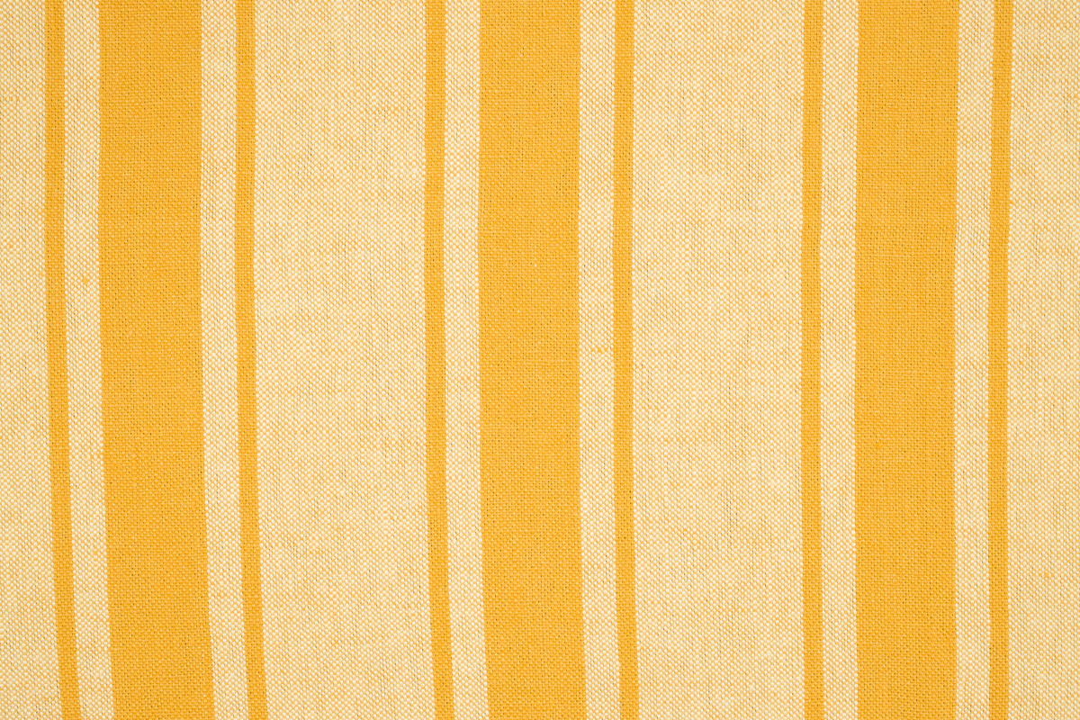MAREMMA RIGATO Yellow-Ochre Stripe Des. 1
