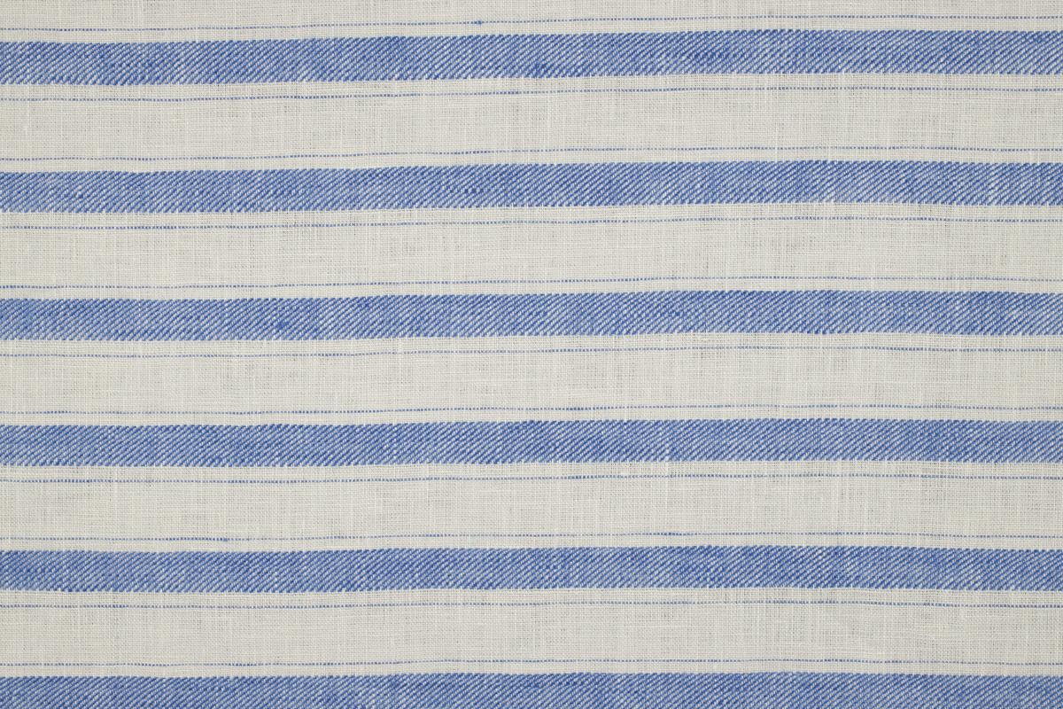 """CERRO 1/2 SPINA White-blue """"riga spina"""" stripe"""