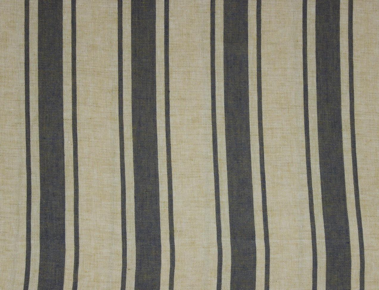 MAREMMA RIGATO Cream-Light Blue Stripe Des. 1