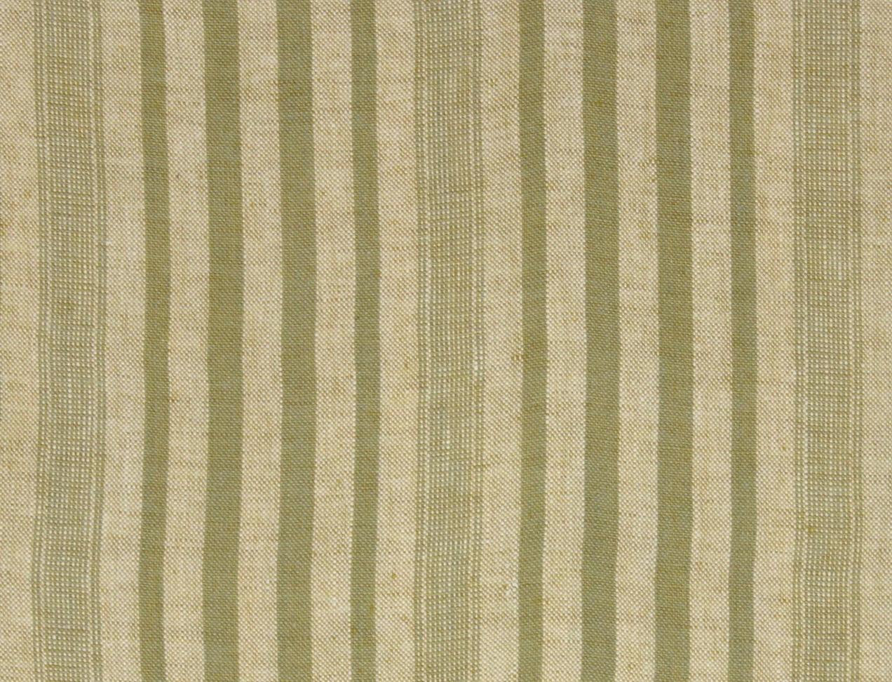 MAREMMA RIGATO Cream-Sage Stripe Des. 2