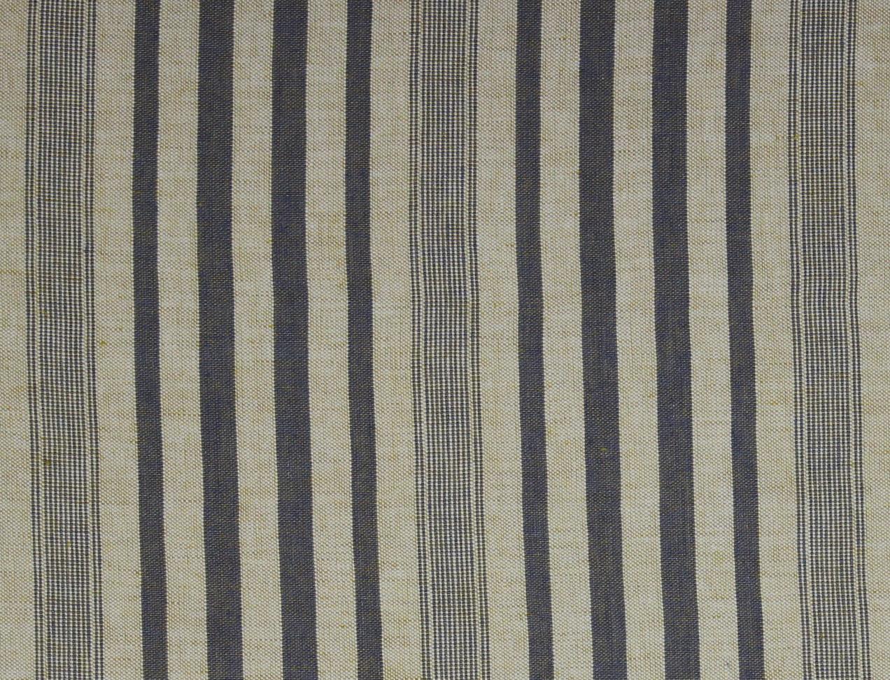 MAREMMA RIGATO Cream-Light Blue Stripe Des. 2