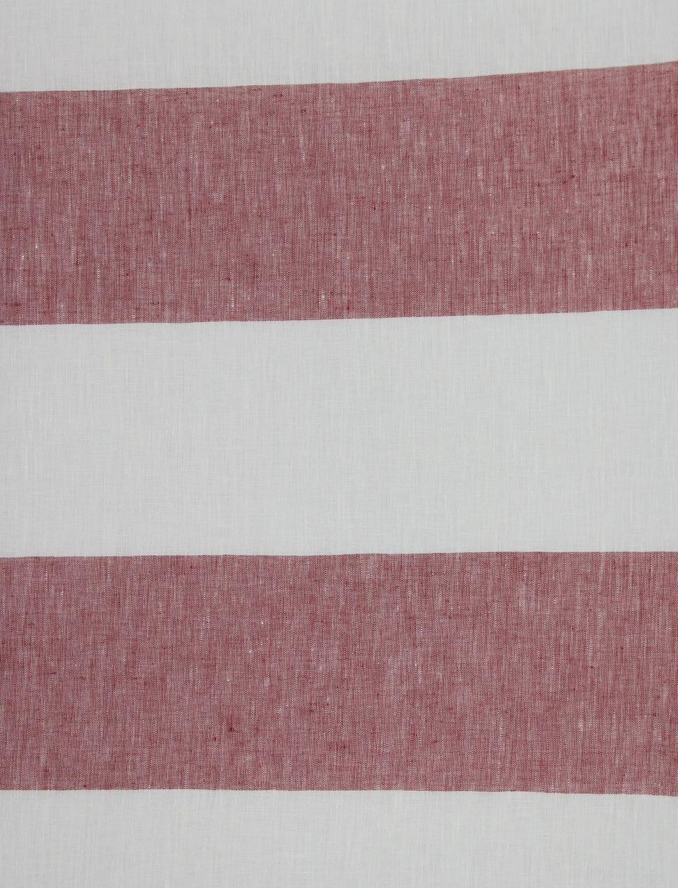 CERRO RIGATO Off White-Red Stripe cm 11