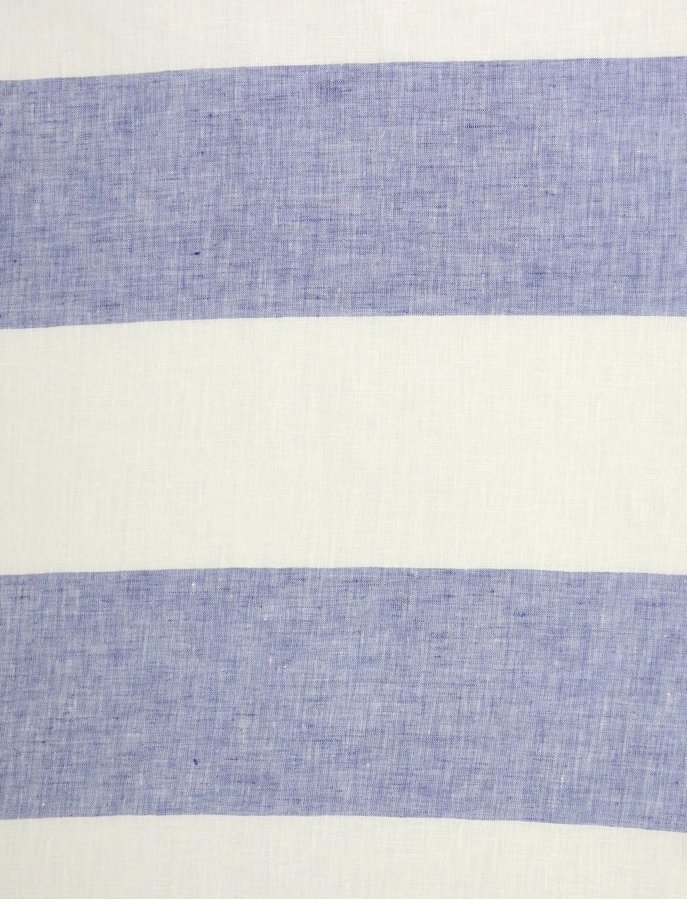 CERRO RIGATO Off White-Blue Stripe cm 11