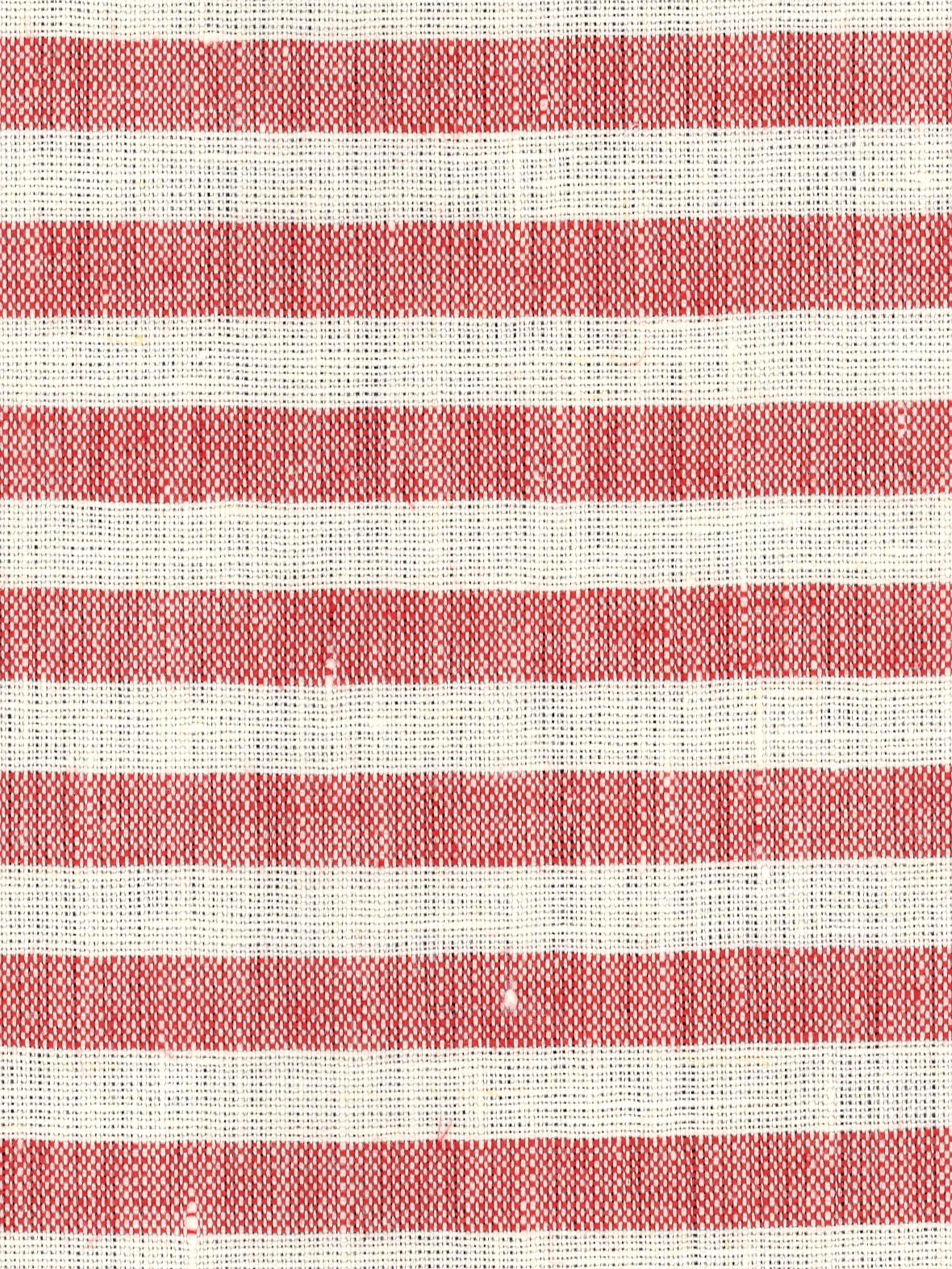 CERRO RIGATO Off White-Red Stripe mm 6