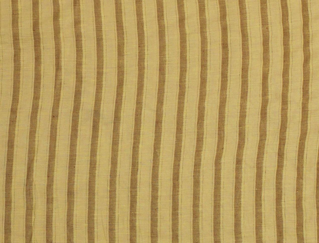 CERRO 1/2 SPINA Gold-Cotto Riga Spina Stripe