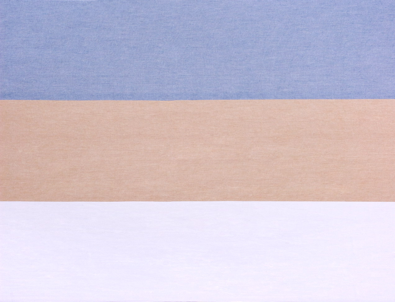 LAVENO BARRE' MACHE' Light Blue-Straw-White cm 77
