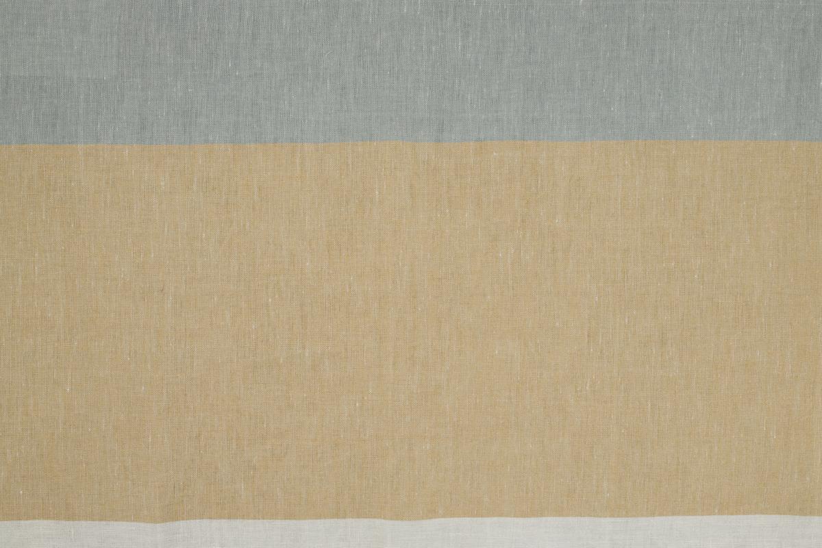 LAVENO BARRE' MACHE' Light Blue-Straw-White cm 19