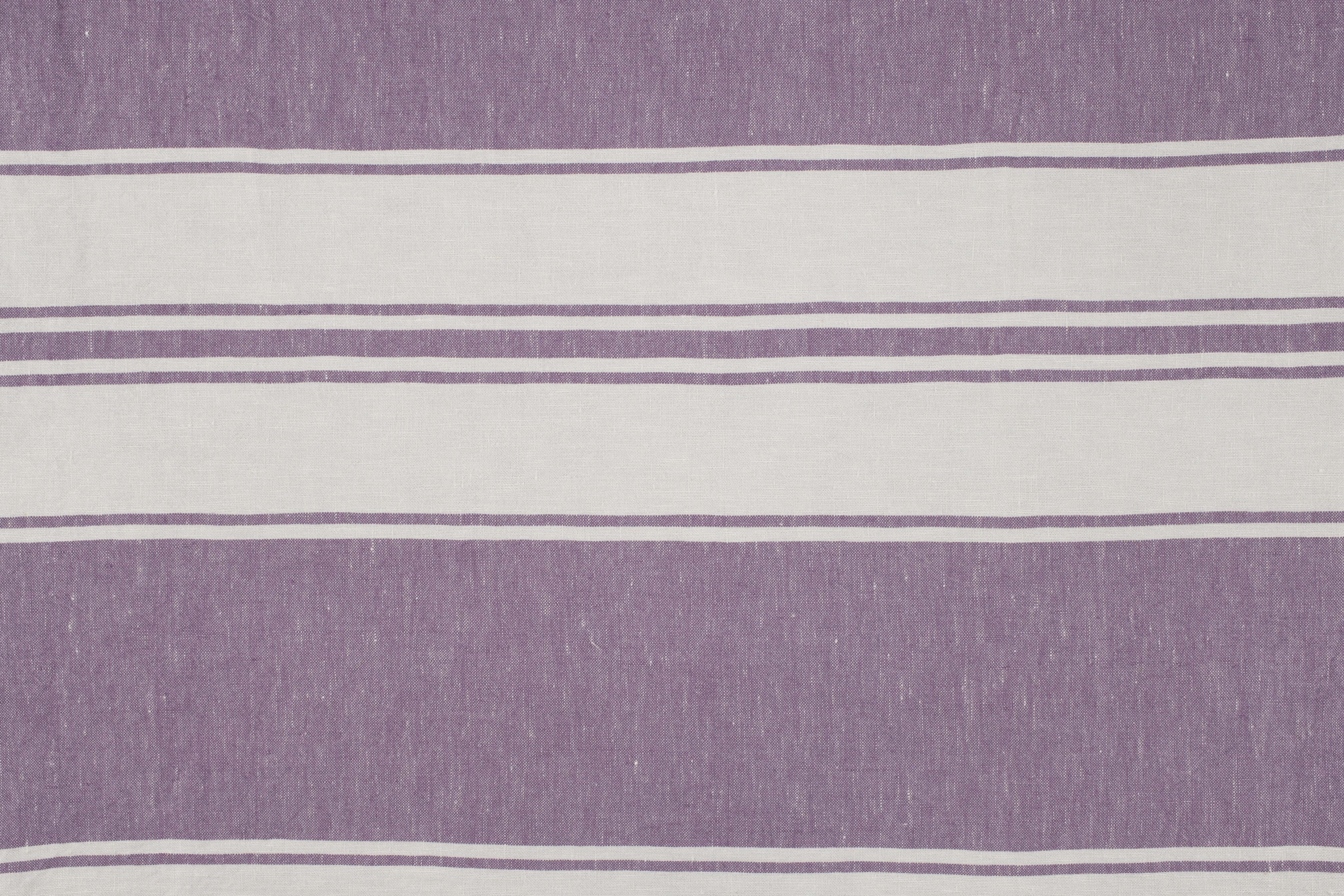 LAVENO BARRE' MACHE' Off White-Violet Striped
