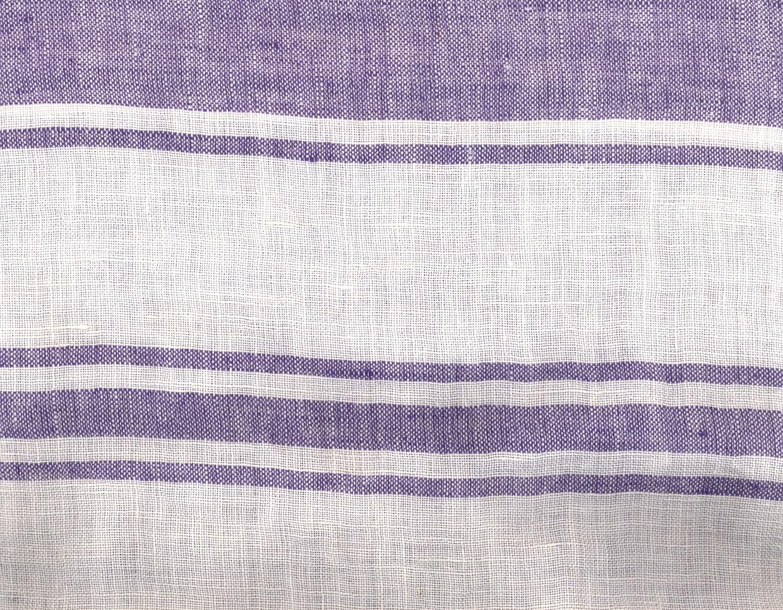 PERSICO BARRE' MACHE' Off White-Violet Striped