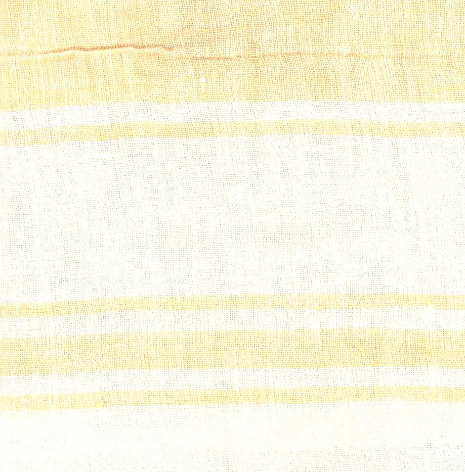 PERSICO BARRE' MACHE' Off White-Yellow Striped