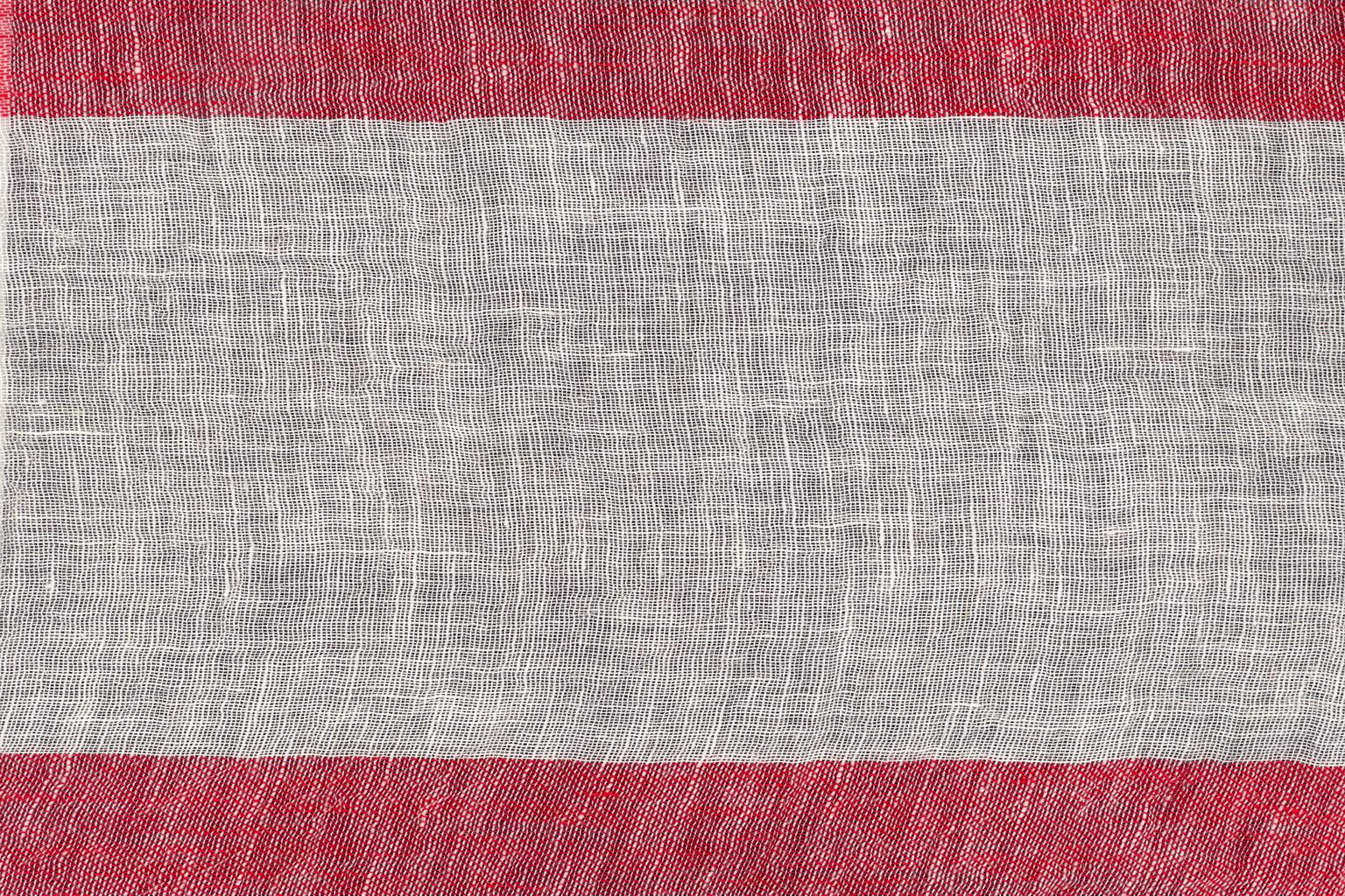 SGARZOLINO BARRE' MACHE' White-red 15 cm stripe