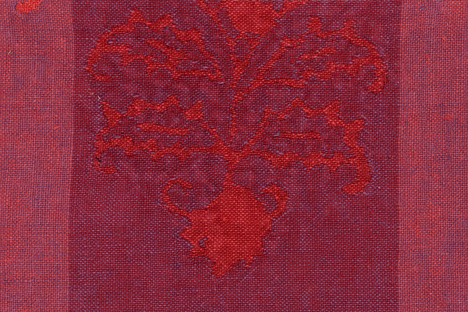 PIENZA CARDO RIGATO Violet Red-Grape