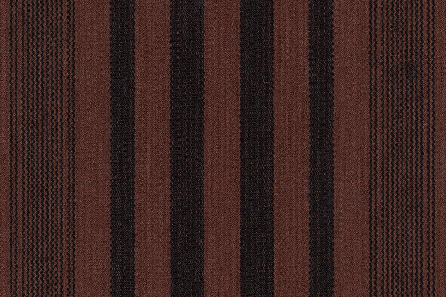 TORINO RIGATO WAX Cocoa-Black Striped