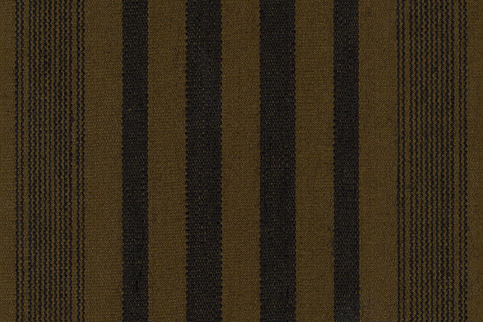 TORINO RIGATO WAX Musk Green-Black Striped