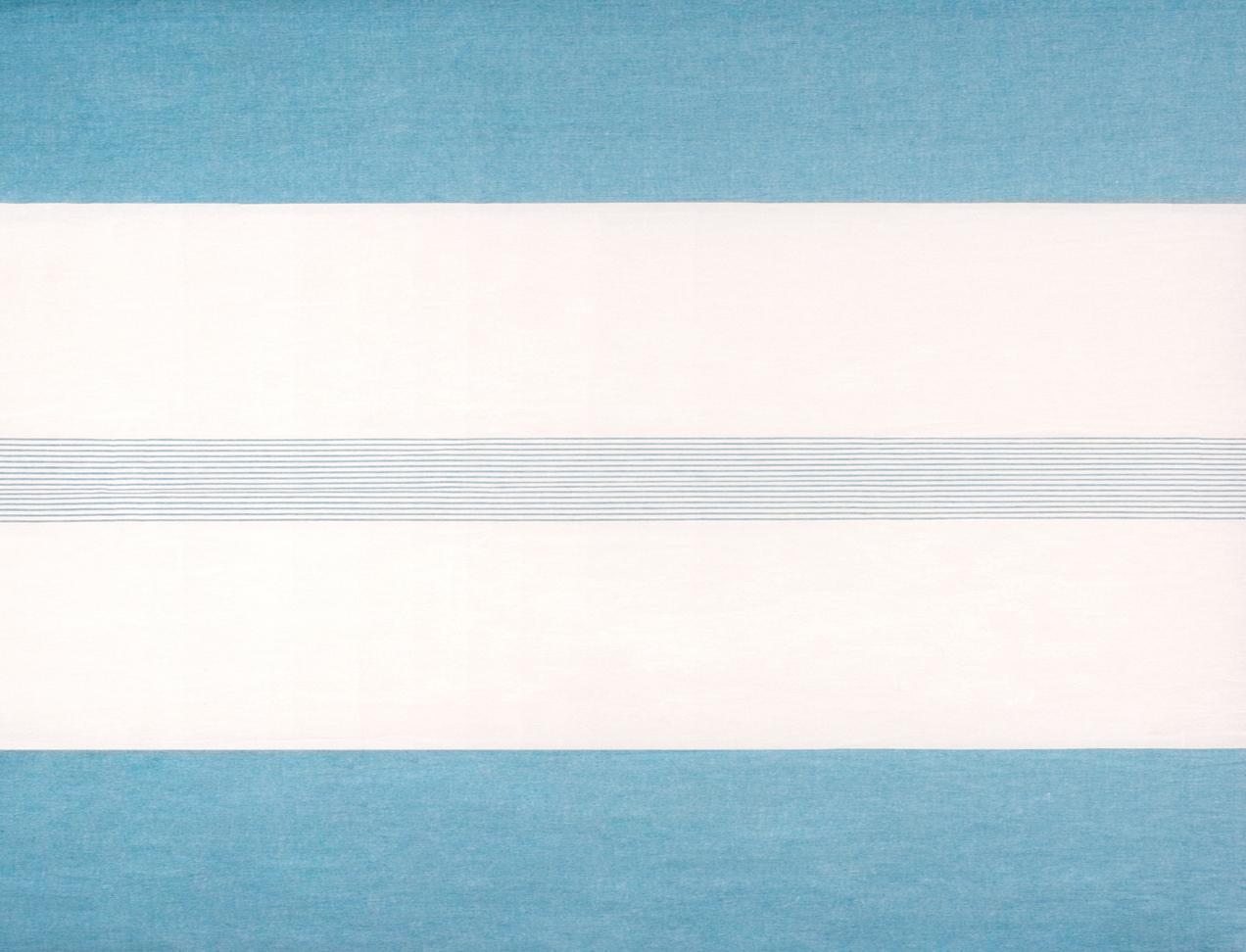LAVENO PIAZZATO MACHE' White-Aqua Repeat cm 280