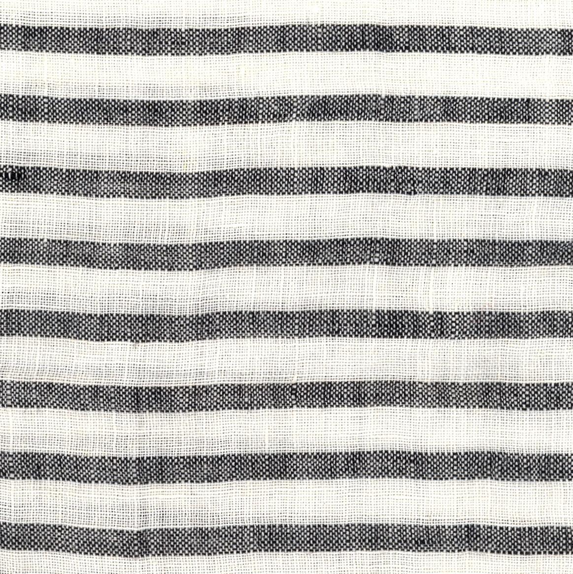 PERSICO BARRE' MACHE' White-Black 6 mm Stripe