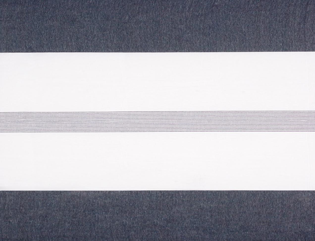 LAVENO PIAZZATO MACHE' White-Black Repeat cm 280
