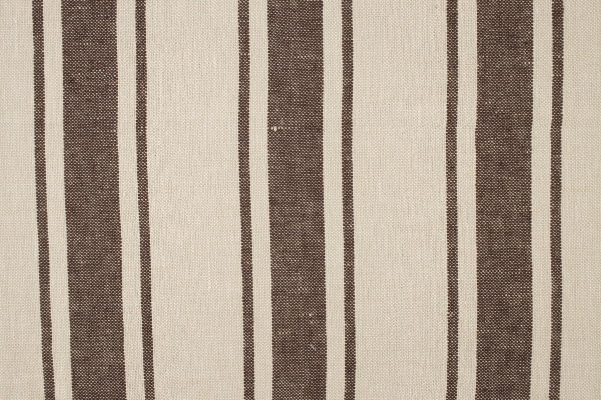 MAREMMA RIGATO Ivory-Chocolate Stripe Des. 1