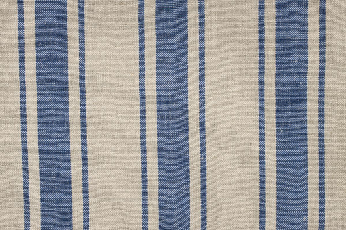 MAREMMA RIGATO Natural-Blue Stripe Des. 1