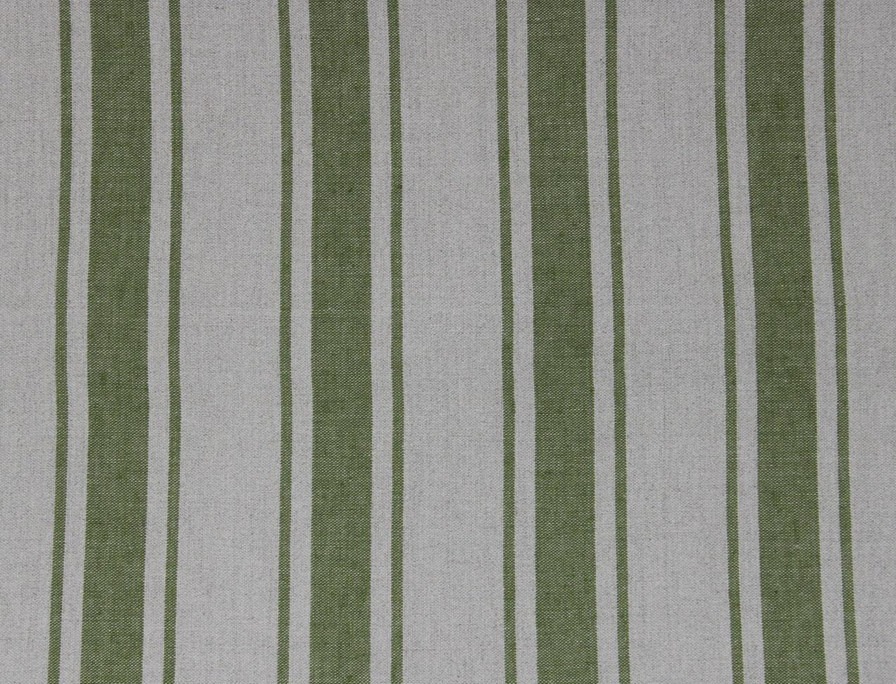 MAREMMA RIGATO Natural-Green Stripe Des. 1