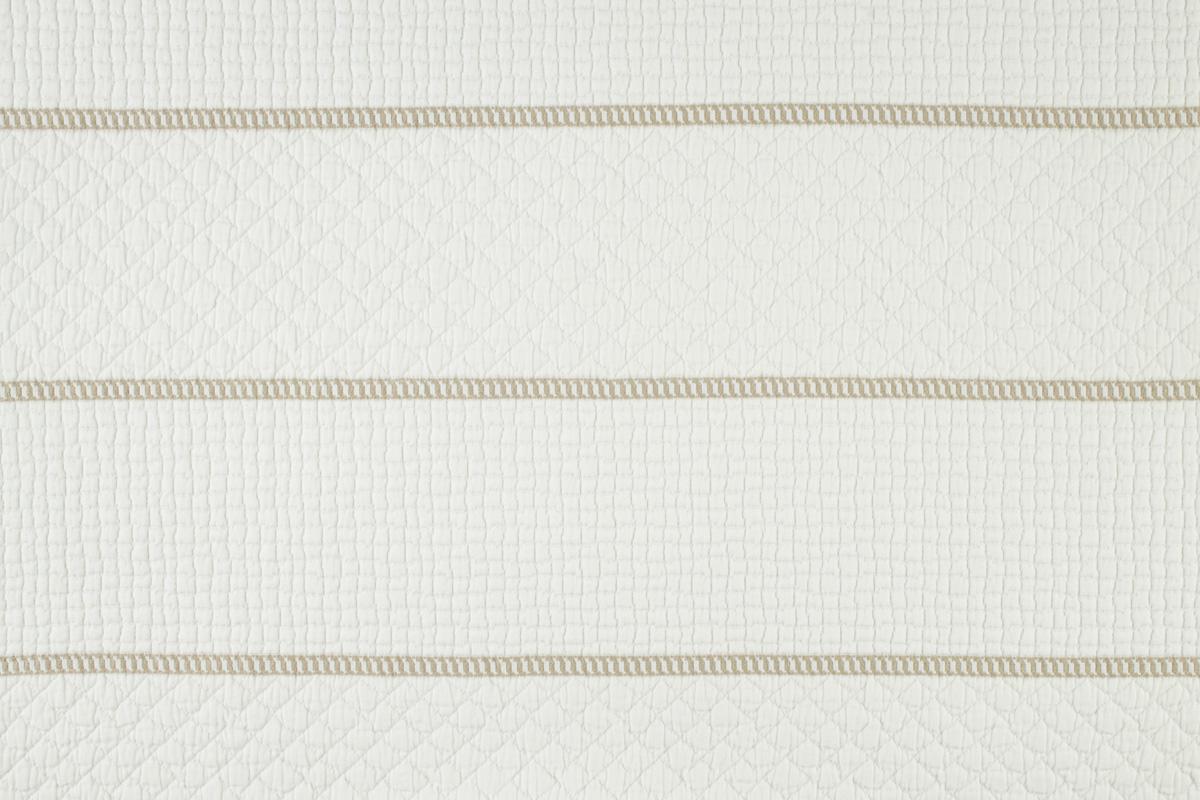 CAPRI BARRE' Ivory Natural Stripe