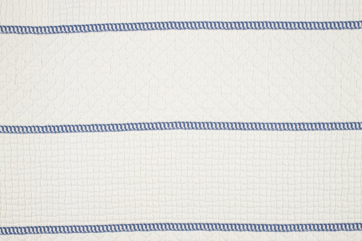 CAPRI BARRE' Ivory Blue Stripe