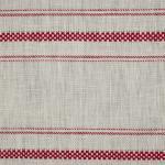 CERRO GRECA White-Red Greca Stripe