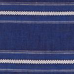 "CERRO GRECA Blue-White ""Greca"" Stripe"