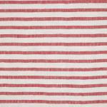 LAVENO BARRE' MACHE' White-Red 6 mm Stripe