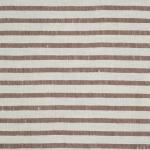LAVENO BARRE' MACHE' White-Coffee 6 mm Stripe